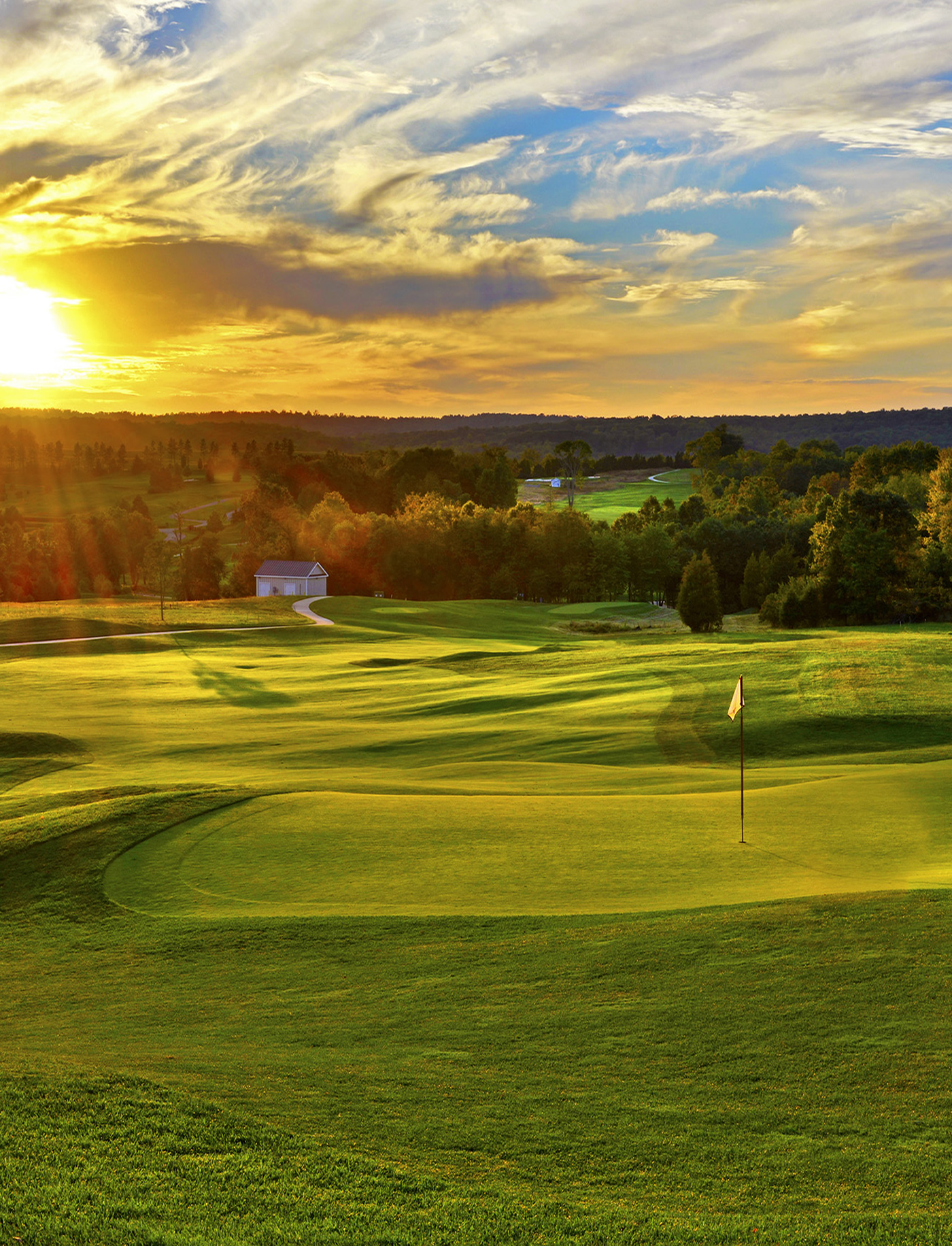 Beautiful Golf Courses of Virginia