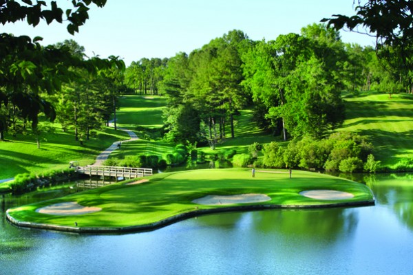 Golden Horseshoe Gold Course 16th hole