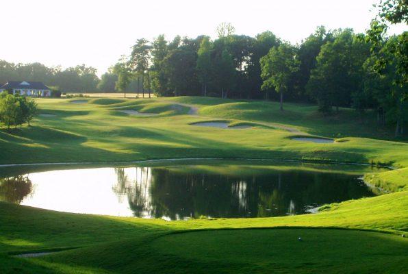 Kiskiack Golf Club 18th hole