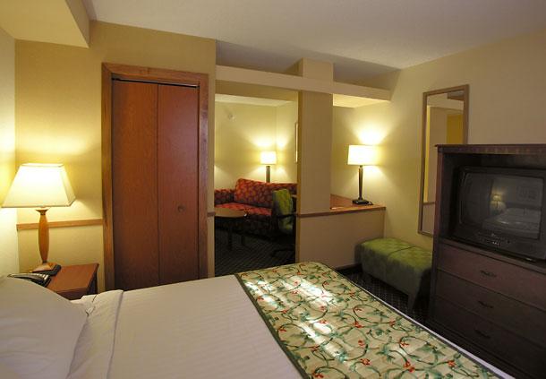 Fairfield Inn and suites Williamsburg VA  King suites