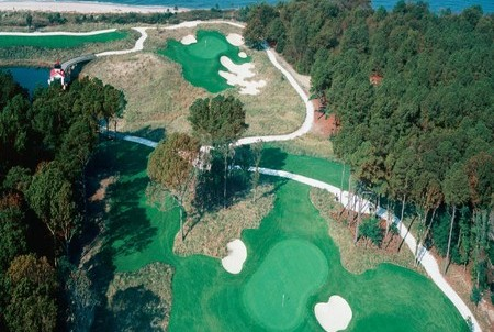 Golf in Virginia Beach at Bay Creeks' Nicklaus Course