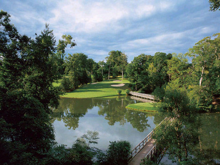 Golden Horseshoe Golf Club Gold Course golf hole