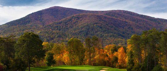 Fall Golf at Wintergreen resort