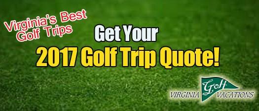 2017 Virginia Golf Trips