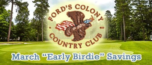 Fords Colony Early Birdie