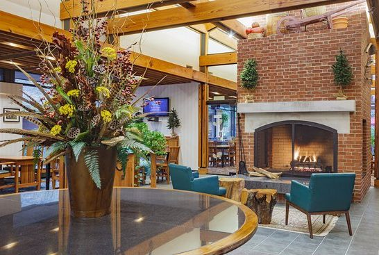 Woodlands Hotel Lobby