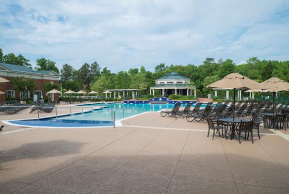 Resort pool at Greensprings